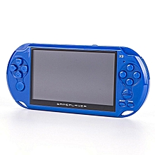 OR 5.0 Inch 16GB Game Console Handheld Player MP3 0.3MP Camera-blue
