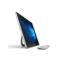 ZED PC 17.3'' Touch Full HD - All In One Pc - 500GB EXT HDD + 32GB SSD - 3GB Ram - Intel Celeron - White / Silver-Win 10