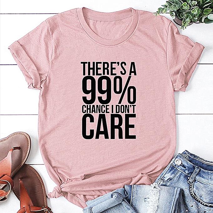 7cbc0f50 Fashion Women Slogan T-shirt Short Sleeves O Neck Letters Print Plus Size Cotton  Cool