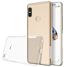 NILLKIN for Xiaomi Redmi Note 5 Pro Nature TPU Transparent Soft Protective Case Back Cover Case (Transparent)