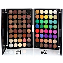 Eyeshadow Makeup Palette Shimmer Set 40 Color With Brush