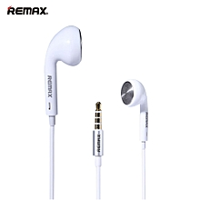 REMAX RM-303 3.5mm Plug Headphone (White)  OPTTCOOL