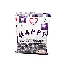Happy Blackcurrant 100pieces