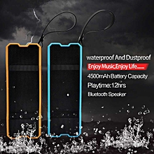 New Outdoor Waterproof Wireless Bluetooth Speaker for SmartPhone Tablet PC -Blue
