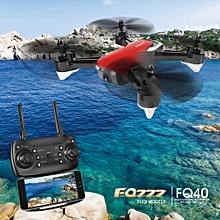 FQ40 720P WIFI FPV Drone Altitude Hold G-sensor RC Quadcopter for Beginner Kids Gift RTF