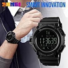 Sport Waterproof Bluetooth Smart Watch Phone Mate For Smartphone -Black - Black