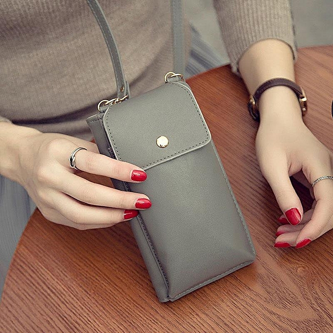 d1498638a87e Generic Multifunction Woman Phone Wallet Crossbody Bag   Best Price ...