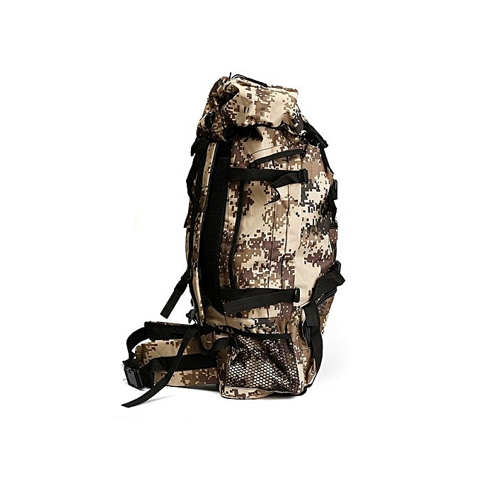 Buy UNIVERSAL 80L Extra Large Internal Frame Hiking Camping Travel ...
