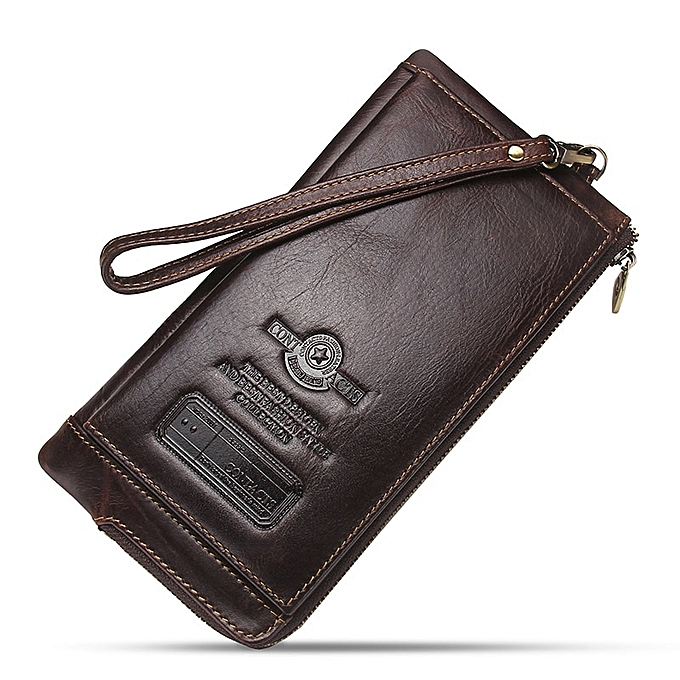 official photos a0183 c76fc Clutch Bag Fashion Card Holder Wallet New Leather Female Long Wallets Women  Zipper Strap Coin Purse For iPhone 8(Green)