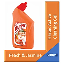 Peach & Jasmine Active Cleaning Gel Toilet Cleaner, 500ml