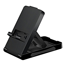 TA-Adjustable Foldable Stand Portable Bracket Holder for Nintendo Switch Console black