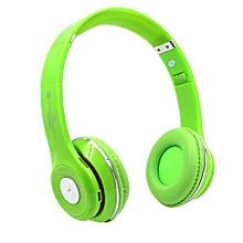 Headphone HandsFree Fashion Bluetooth Headset Bluetooth Sports Wireless Headphones S460 - Green