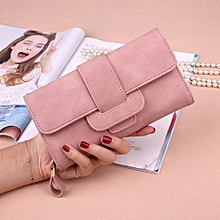 Lady's Leather Wallet - Pink
