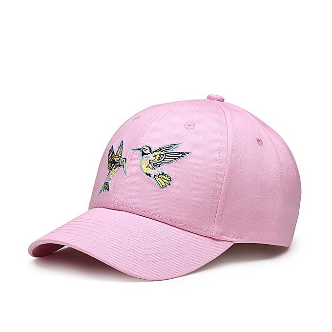 89a89e0f6bd96 Lesov Unisex Baseball Cap Men Women Embroidery Birds Snapback Caps Sport  Casual Sun Hat Cotton Hip