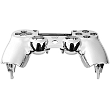 Plating Front Housing Shell Case Cover For PS4 DualShock 4 Controller
