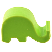 Cell Phone Mini Elephant Holder Stand MP3 For iPhone 5/4S/Samsung Green