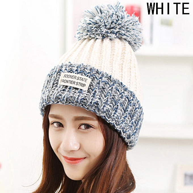 Buy Fashion The High Quality Winter Ball Cute Wool Hat Knitted Cap ...