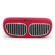 NewRixing NR - 2020 Wireless Bluetooth Stereo Speaker Portable Player-RED