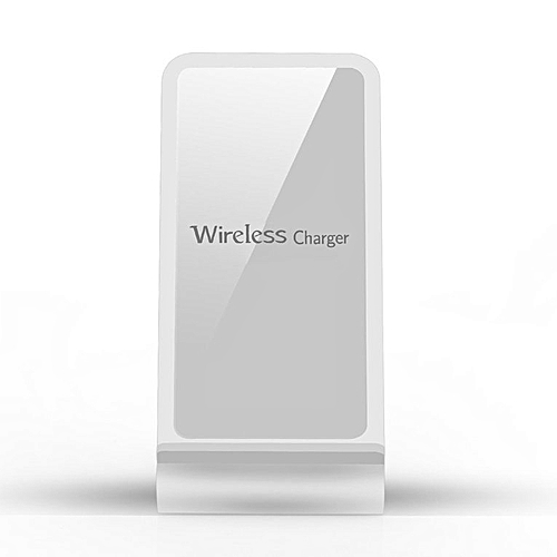 HP-A8 Fast Wireless Charger Double Coils Design Qi Quick Charging Stand Pad  Aluminium alloy