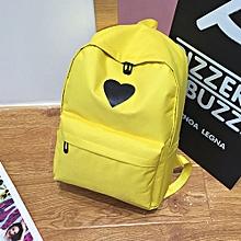 Women Girl Fashion Love Print Preppy Style School Bag Travel Backpack Bag+Wallet
