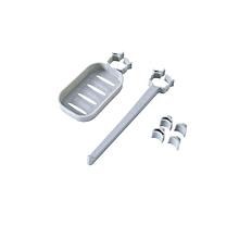 [Buy 1 Get 1 Free] Kitchen Bathroom Faucet Drain Storage Holder Clip-on Soap Dish + Towel Rack