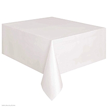 Disposable Tablecloth Rectangle Table Cover Party Decoration Table Cloth White