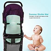 4 Types Breathable Baby Infant Stroller Seat Cushion Summer Cool Ice Silk Fiber Prams Mat