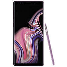 Galaxy Note9 6.4-Inch (6GB RAM, 128GB ROM) Android 8.1 Nougat, (12MP + 12MP) Dual SIM LTE Smartphone - Lavender Purple