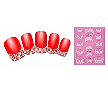 New 3D Transfer Lace Design Nail Art Stickers Manicure Nail Polish Decals Tips