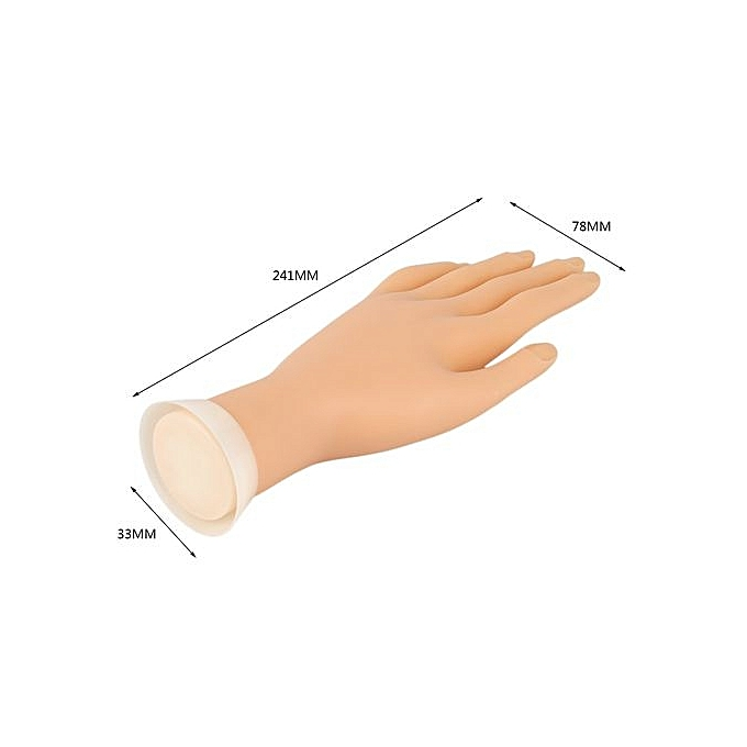 Buy GENERAL Practice Left Hand Model For Nail Art Training And ...
