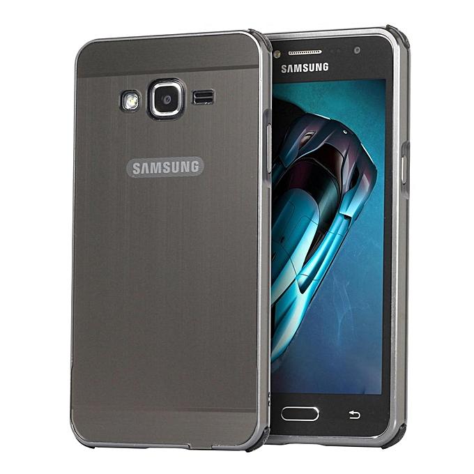 Luxury Metal Aluminum Bumper For Samsung Galaxy J2 Prime Case Detachable Brushed PC Hard Back