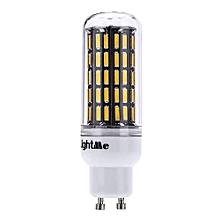 GU10 - AC 85 265V 7W 650LM SMD 7020 LED Corn Bulb Light Energy Saving Lamp With 88 LEDs - Warm White
