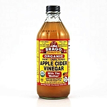 Organic Raw Unfiltered Apple Cider Vinegar with 'The Mother'