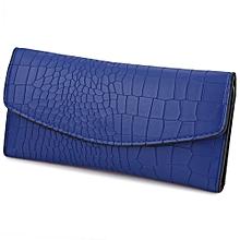 Guapabien Lady Fashionable Animal Pattern Detachable Party Business Cash Card Holder Clutch Bag Long Wallet