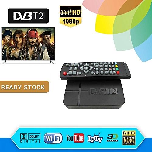 Myfreeview Tv HDTV Digital Local Tv Dvb-t2 Decoder (UK PLUG)