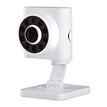ESCAM Wall E QF601 720P Wireless WiFi IP Camera with Motion Detection WHITE US PLUG
