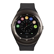 "Y1 - Smart Watch ""with M-pesa"" - Black"