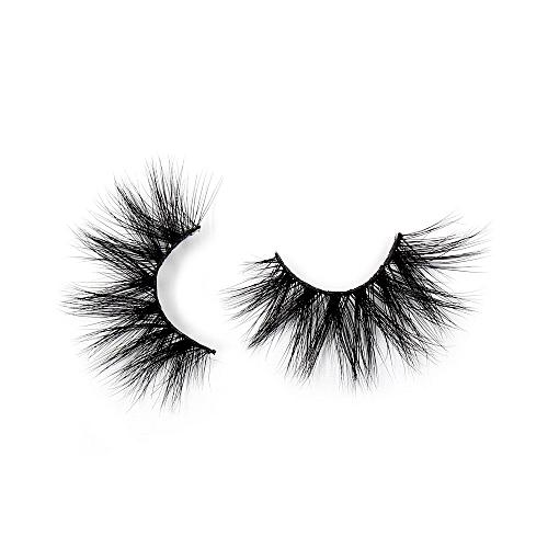 48e9838f83f Generic Eyelashes 3D Mink False EyeLuxury Large Criss-cross False Eyelashes  25mm Hand Made Fluffy Dramatic Lashes Makeup(G05)