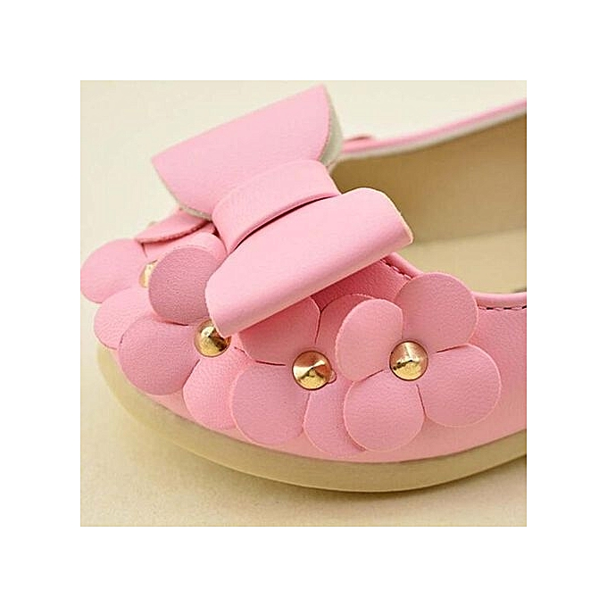 45a61d959859 ... Baby Girls Flats Toddler Cozy Pretty Flowers Dress Shoes Ball Gown  Sandals PK - Pink ...