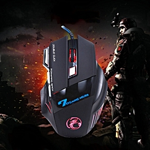 Great 3200DPI Optical 7D USB Wired Gaming Game Mouse for PC Laptop Black