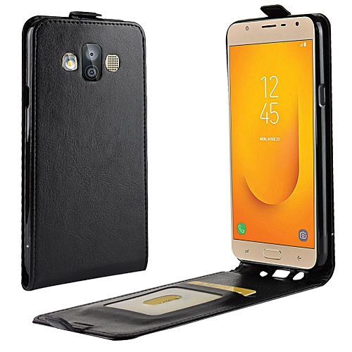 check out 2f52b b8618 Samsung J7 Duo Case,Magnetic Flip Case with Card Slot