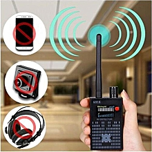 Anti Wireless Camera Detector Gps Mobile Phone Signal Detector Device Tracer Finder 2G 3G 4G Bug Finder Radio Detection - Black