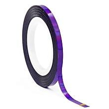 bluerdream-Rolls Striping Tape Line Nail Art Sticker Tools Line DIY Design  Nail Accessorie- Purple