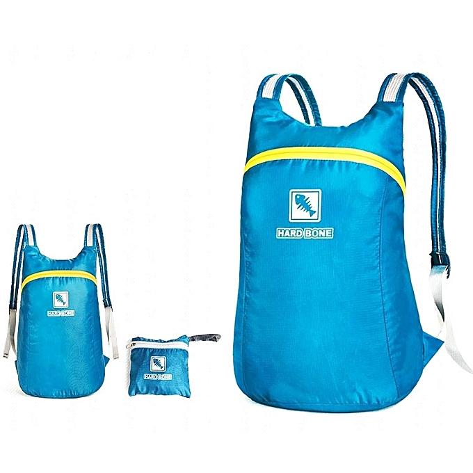 Generic IPRee® 18L Foldable Backpack Ultralight Outdoor Sport Travel  Waterproof Folding School Bag Men Women ebe03dbbba5e5
