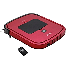 iiutec R-Cruiser Ultra Slim Vacuum Cleaner Household Cleaning Robot with Remote Control(Red)