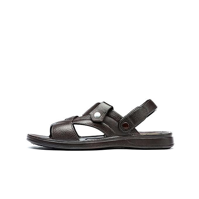 841d6107ad65 ... Hot sale mens sandals outdoor beach slide men s sandals casual shoes  soft sandals for man- ...