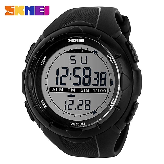 feec59bd6f2f Top Luxury Brand Watch Men s Sports Watch Fashion Digital Watches Gift For  Male SKM1025