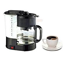 Coffee Maker- HE-6044-M- Black