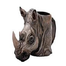 Safari Ceramic Mug- Rhino