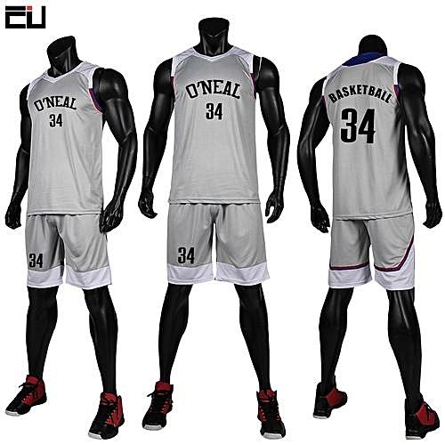 6b2e0d478d9 Longo Children Boy And Men's Customized Basketball Team Sports Jersey  Uniform-Grey(GY7304)